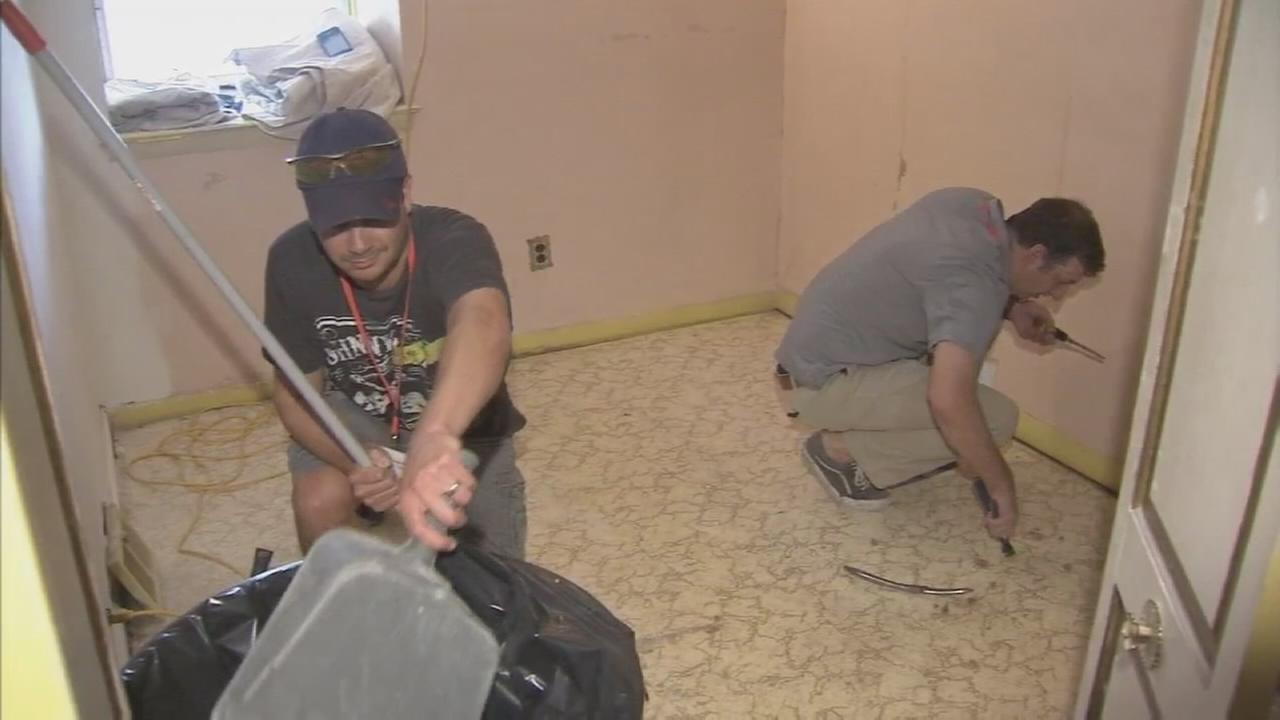 Jewish Federation, Habitat for Humanity make over NE Phila. home