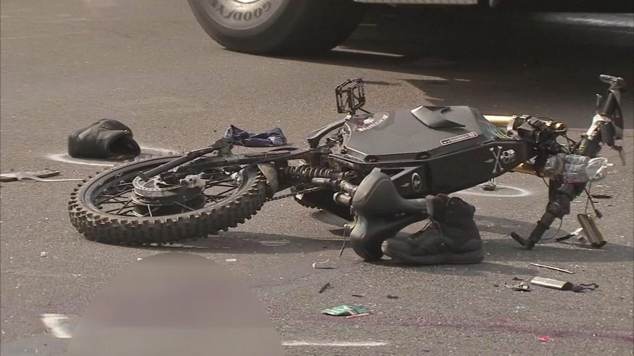 Man killed in electric bike crash in Bucks County