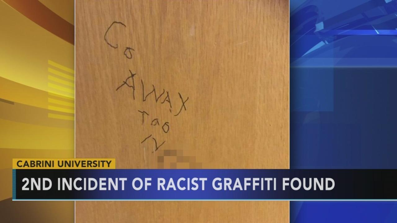 Racist graffiti found on another Cabrini dorm room door