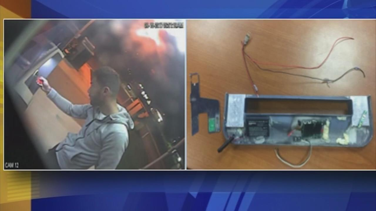 ATM Skimming: Person of interest caught on camera in Philadelphia: Sarah Bloomquist reports on Action News at 4 p.m., September 21, 2017