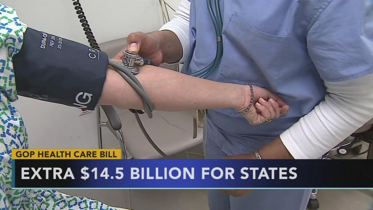 Republicans add money, insurers flexibility to health bill