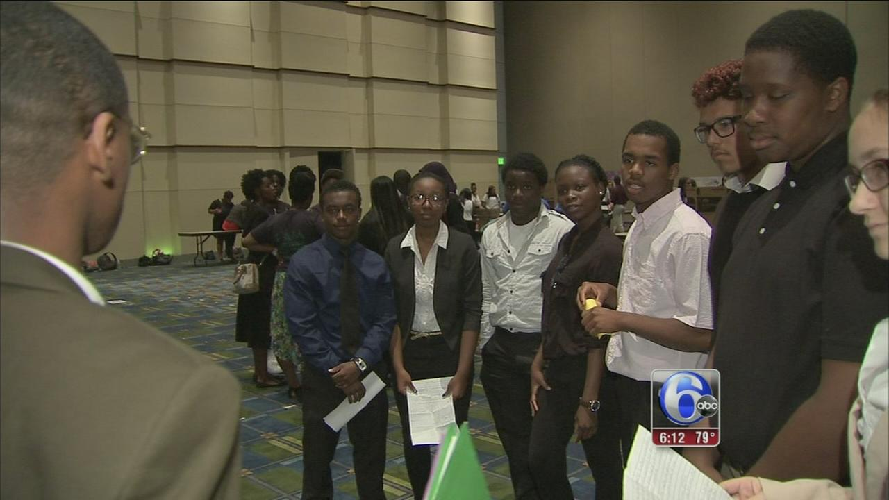 VIDEO: WorkReady Philly helps young people prepare for workforce