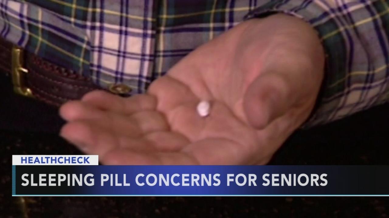 Sleeping pill concerns for senior citizens