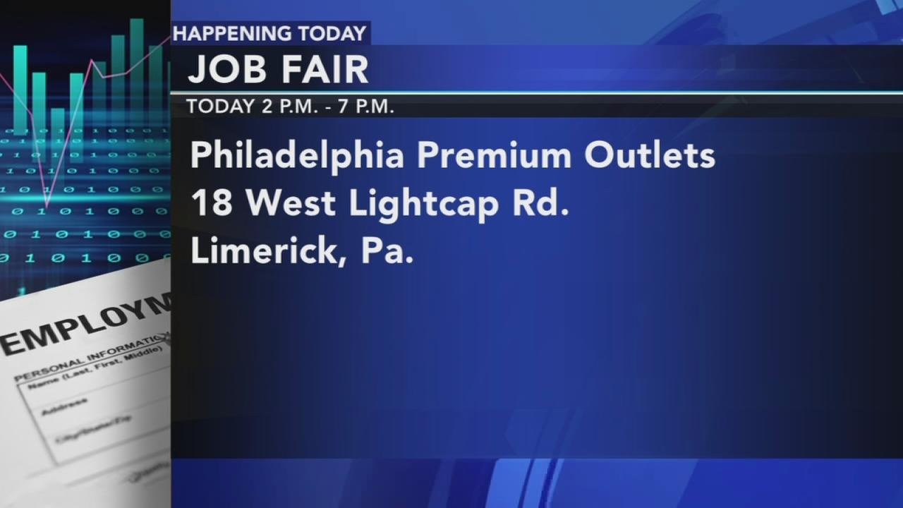 Philadelphia Premium Outlets job fair
