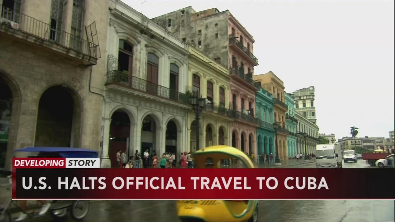 AP sources: US urges no travel to Cuba, cuts embassy staff