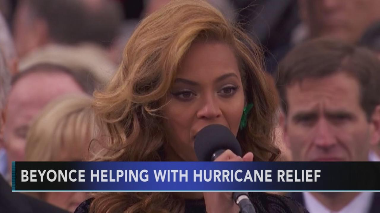Beyonce lends her voice to hurricane relief