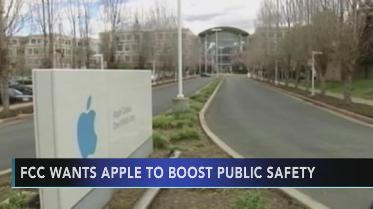 FCC calls on Apple to boost public safety