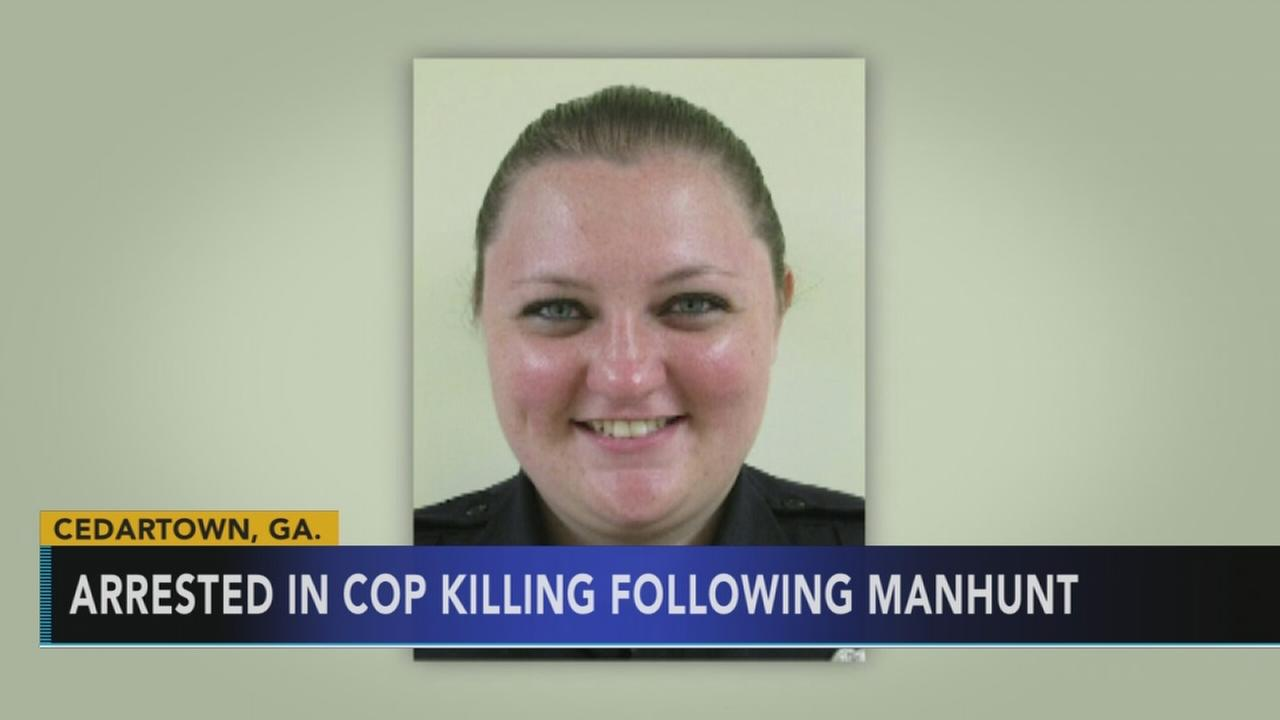 Arrest made in Georgia officer killing following manhunt