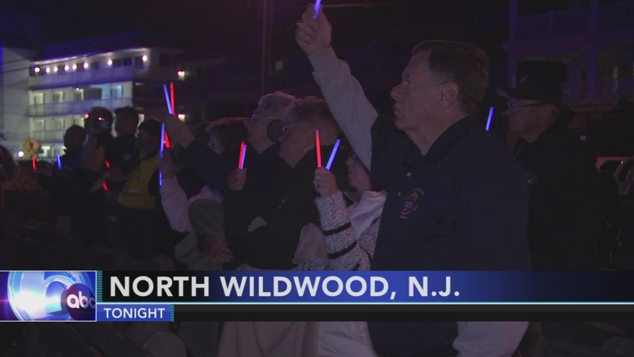 Fallen officers remembered in North Wildwood: Walter Perez reports on Action News at 11 p.m., September 30, 2017