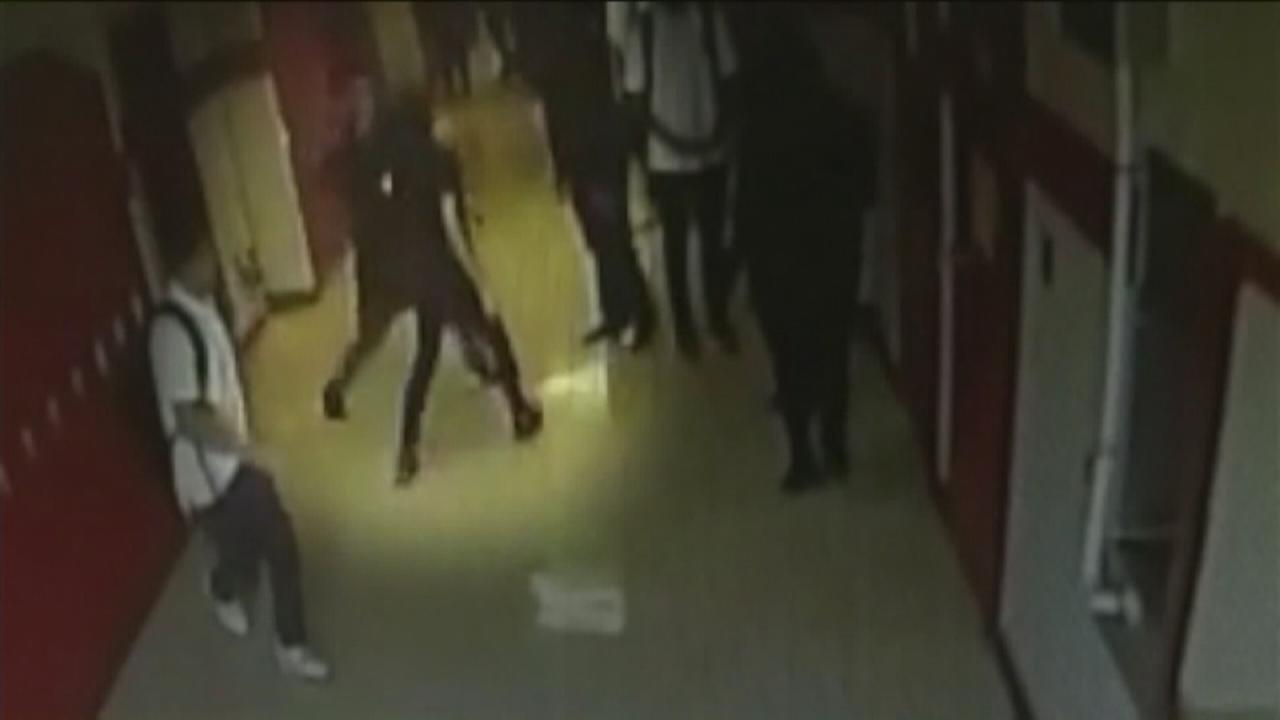 7 suspended after transgender teen attacked at high school