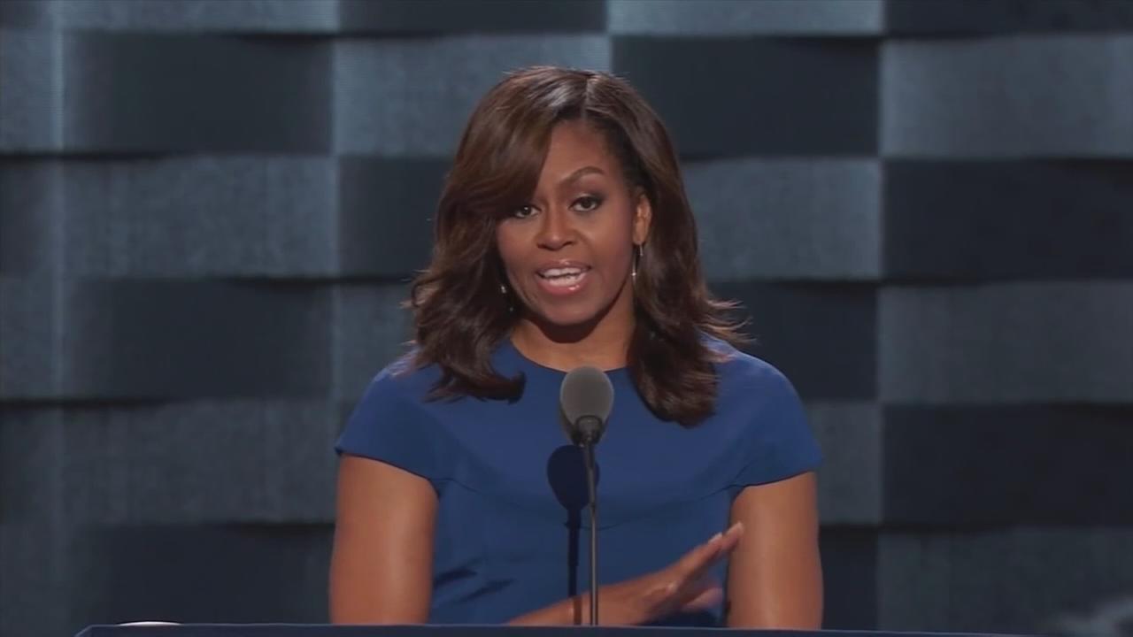 Michelle Obama headlines womens event in Philadelphia