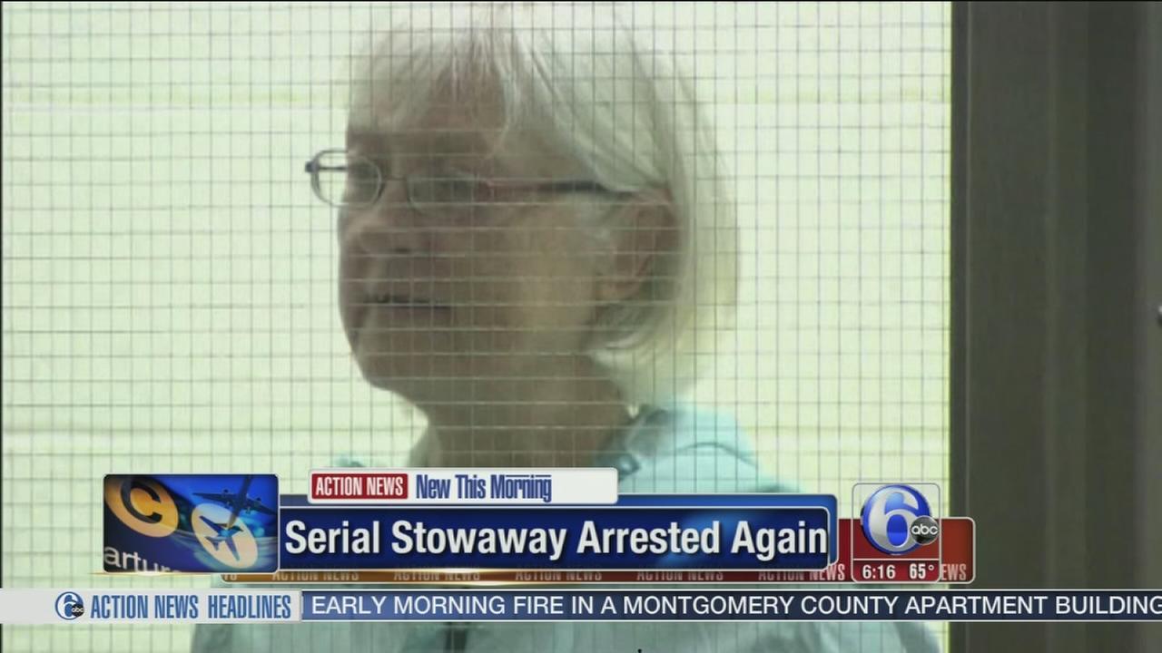 VIDEO: Seiral stowaway strikes again at LAX