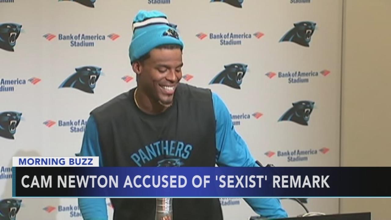 NFL: QB Newtons response to female reporter disrespectful