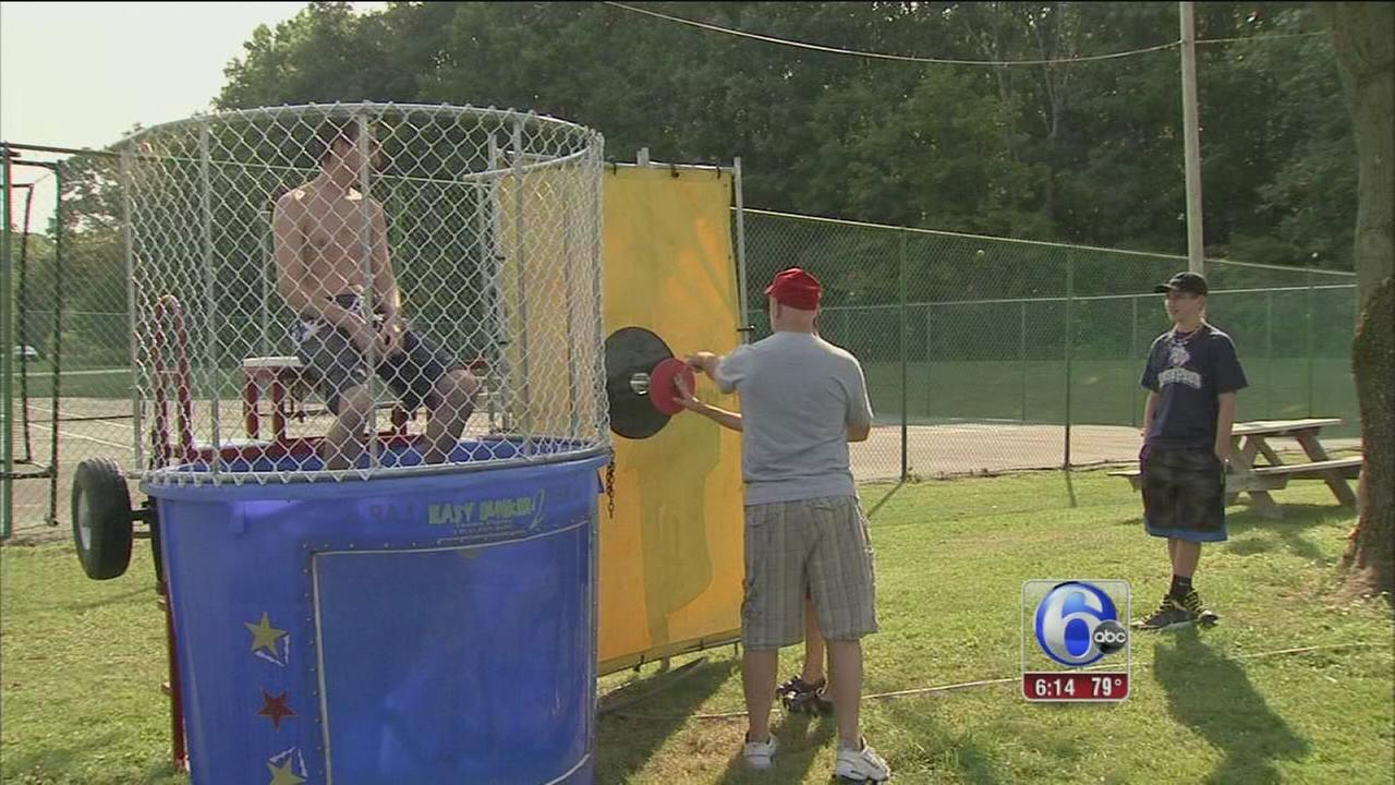 VIDEO: Sunshine Games at special needs camp in Worcester