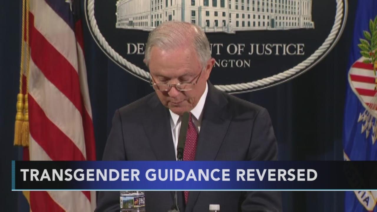 Trump Justice Dept ends transgender workplace protections