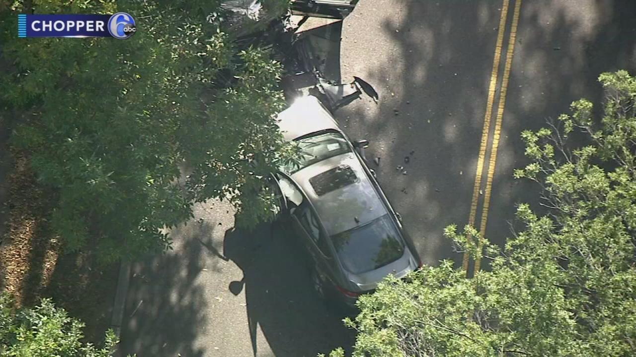 Head-on crash on MLK Drive