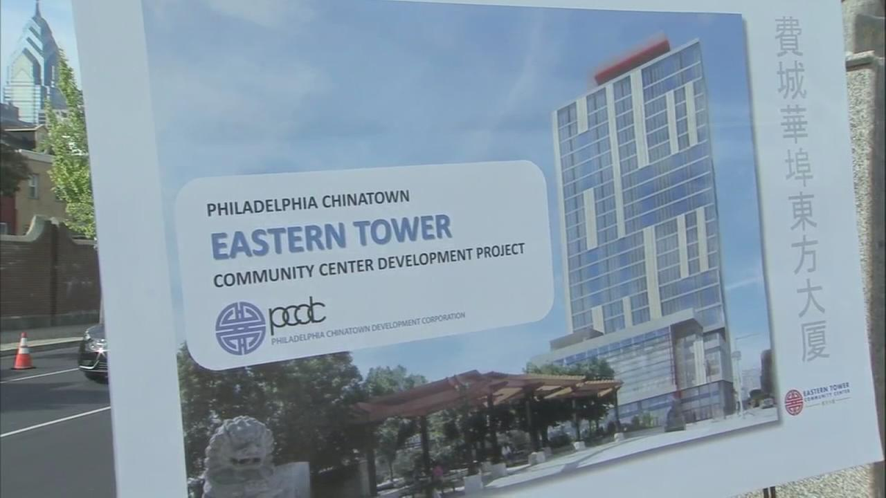 Ground breaks for new high-rise in Chinatown