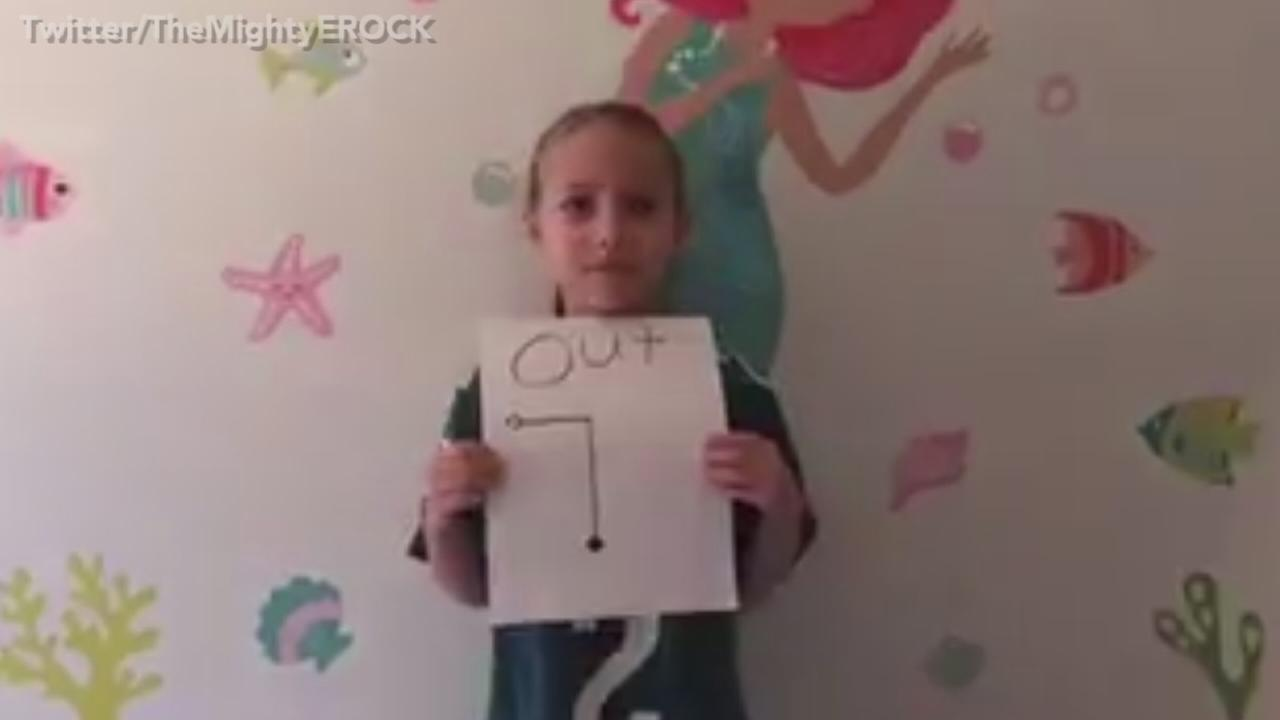 7-year-old girl responds to Cam Newtons remarks towards female reporter