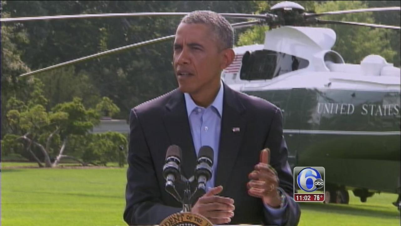 VIDEO: Obama:  No time limit on Iraq military action