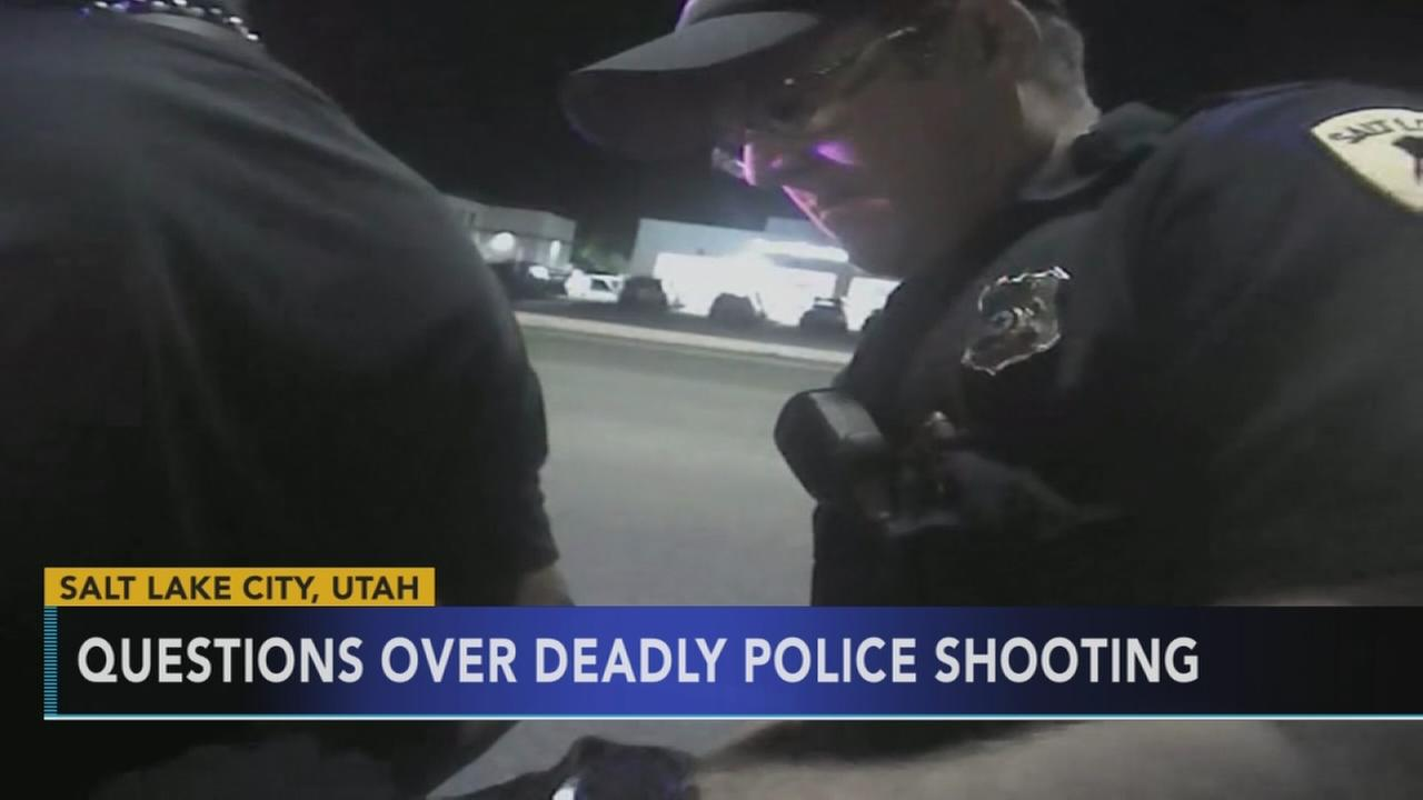 Outcry over Utah fatal police shooting captured on camera