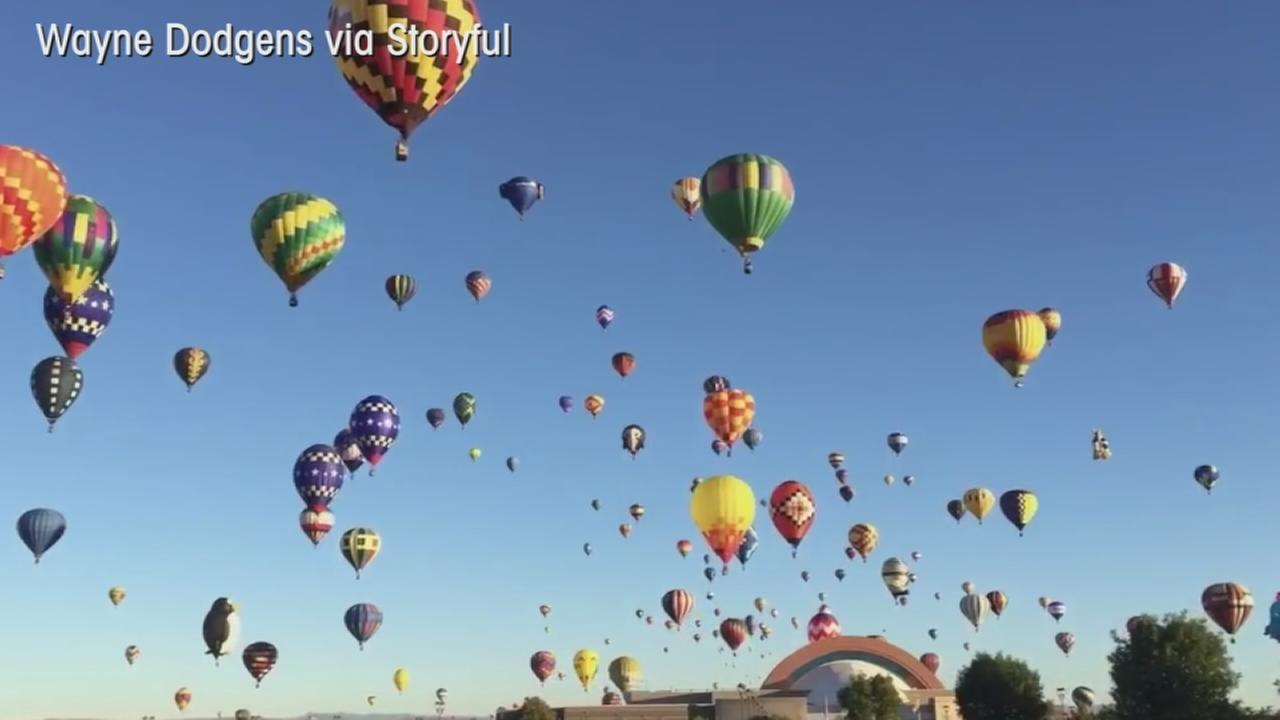 VIDEO: Hot air balloon festival