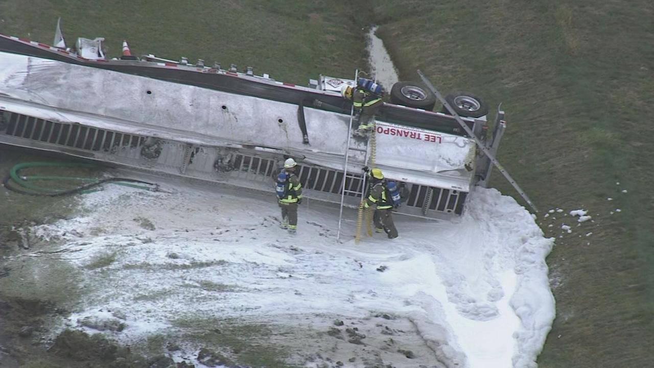 Tanker crash in Townsend, Del.
