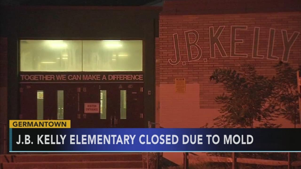 J.B.Kelly Elementary School closed Thursday due to mold