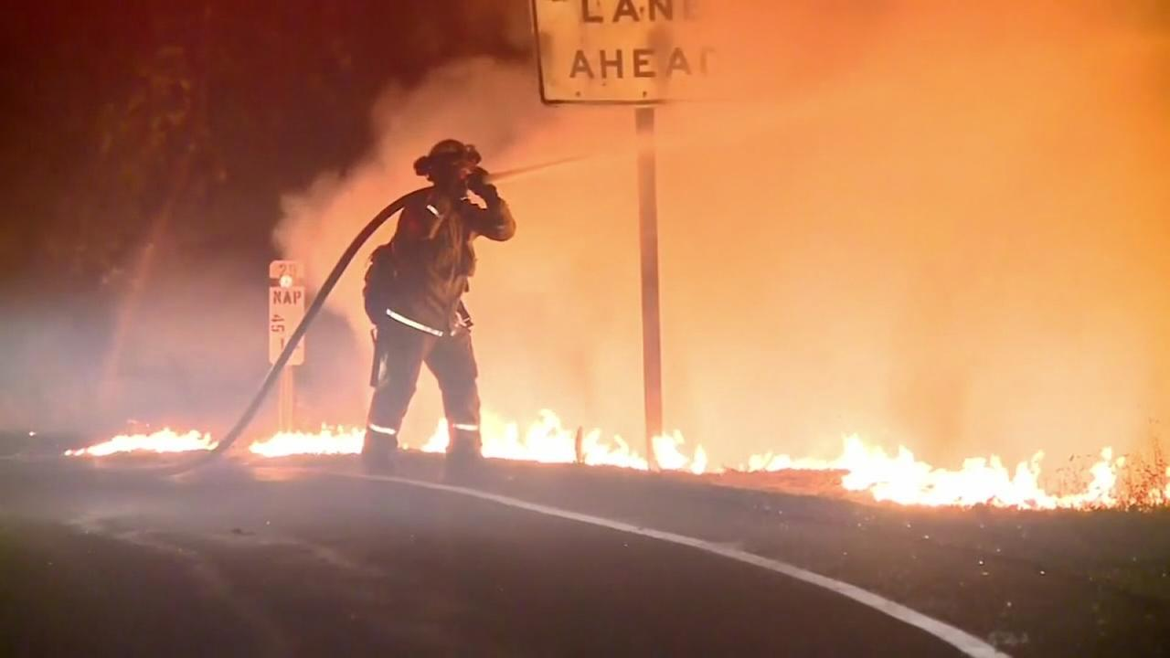Weary Californians try to find all thats lost as fires rage