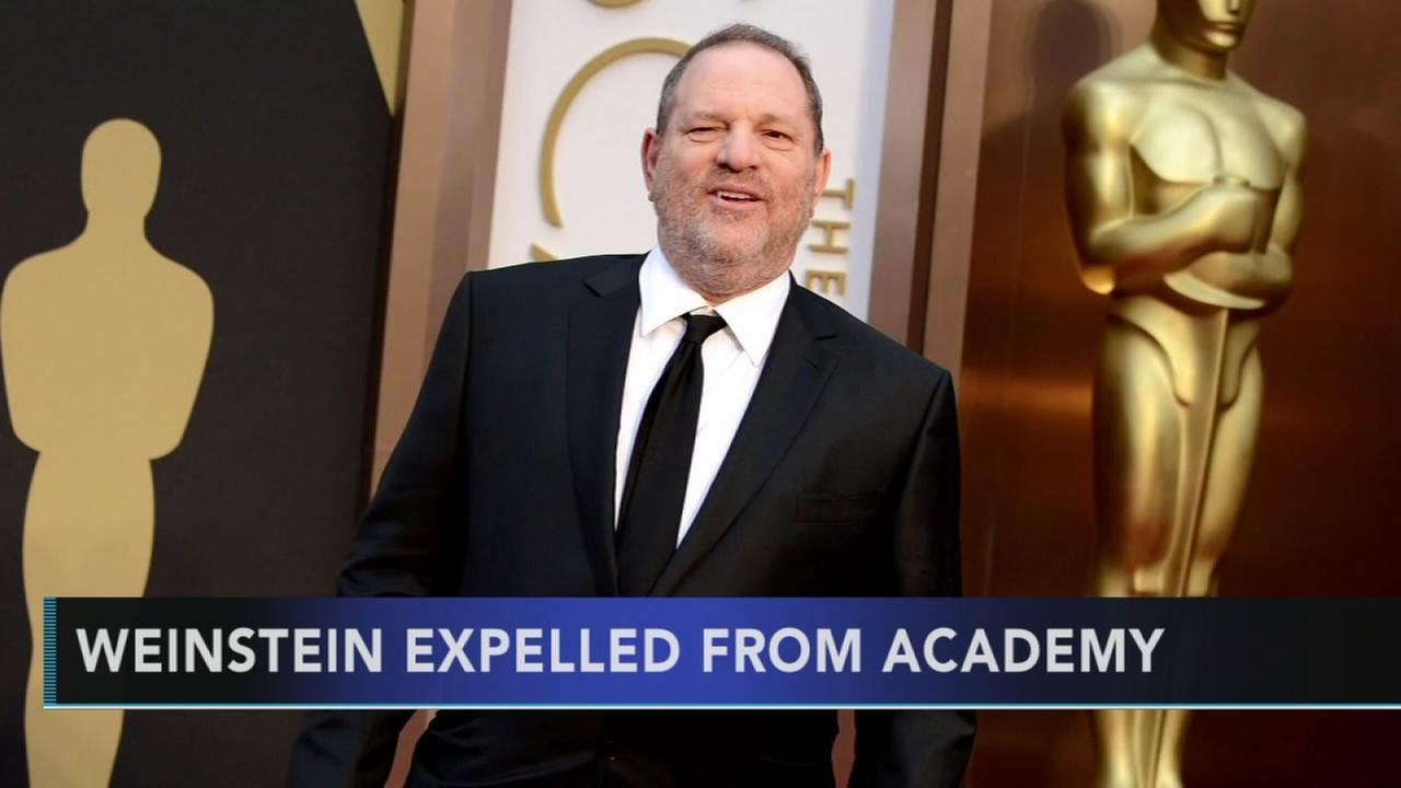 Motion Picture Academy expels movie mogul Harvey Weinstein