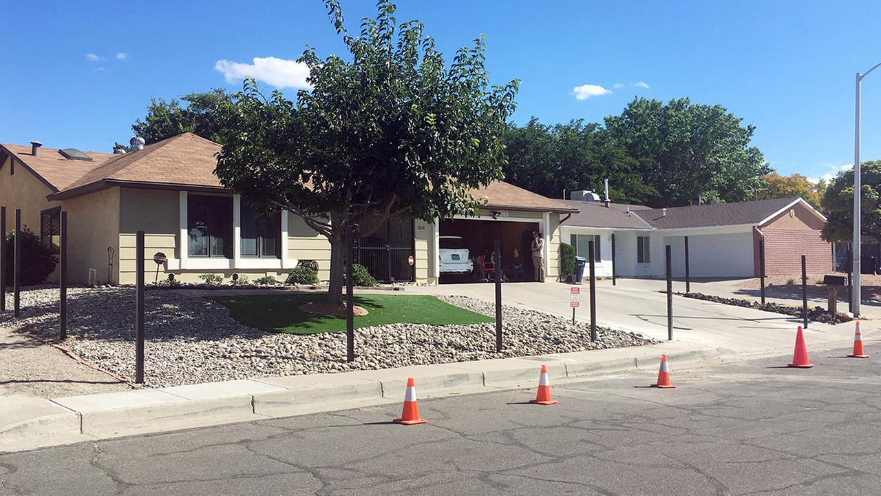 The real Albuquerque house made famous by the methamphetamine-making character Walter White in the AMC-TV hit series Breaking Bad is getting a fence.