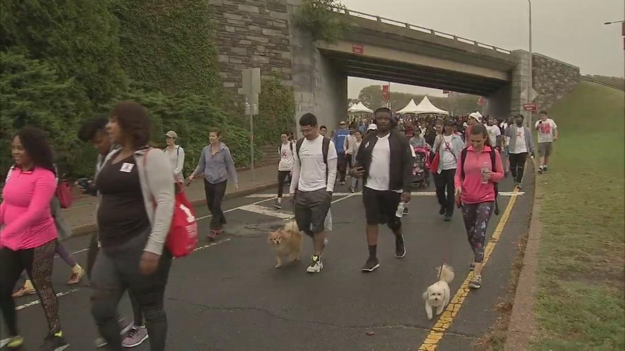 VIDEO: Philadelphia AIDS Walk