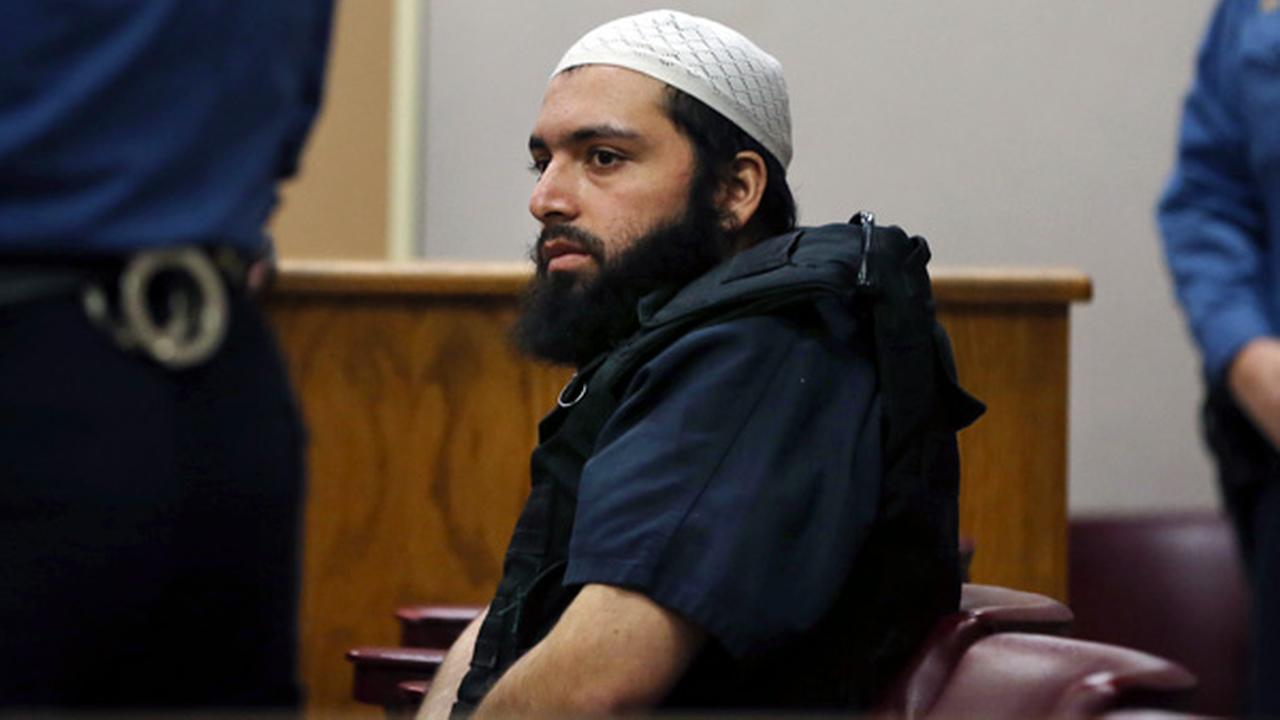 FILE - In this Dec. 20, 2016 file photo, Ahmad Khan Rahimi, the man accused of setting off bombs in New Jersey and New Yorks Chelsea neighborhood in September.
