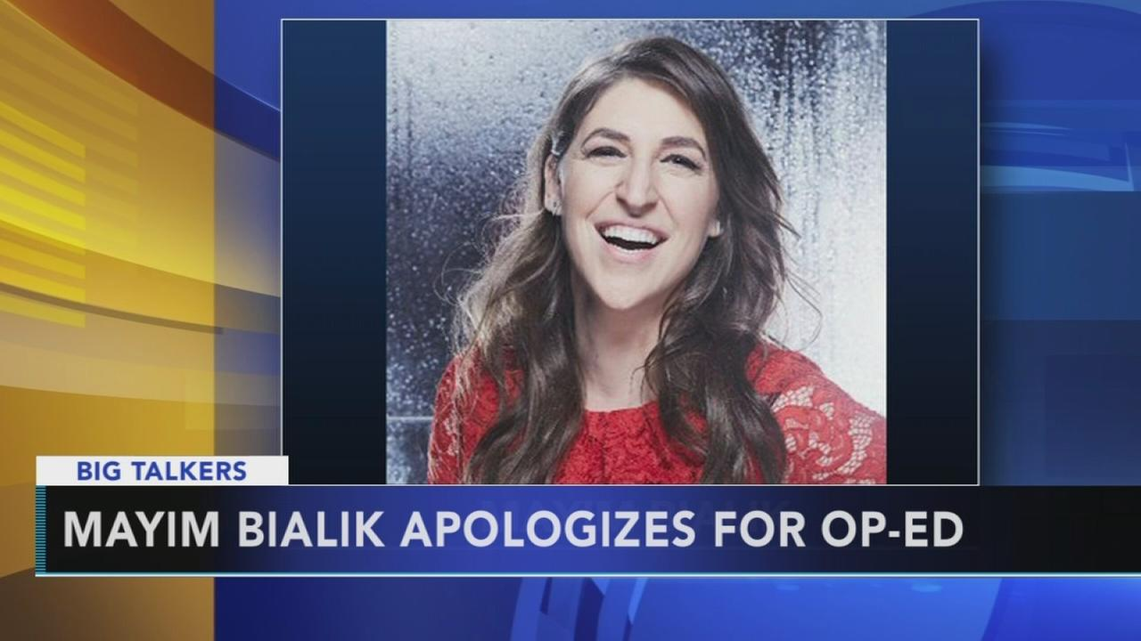 Mayim Bialik discusses Weinstein comments after backlash