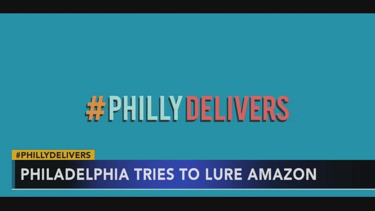 Philadelphia looks to lure Amazon