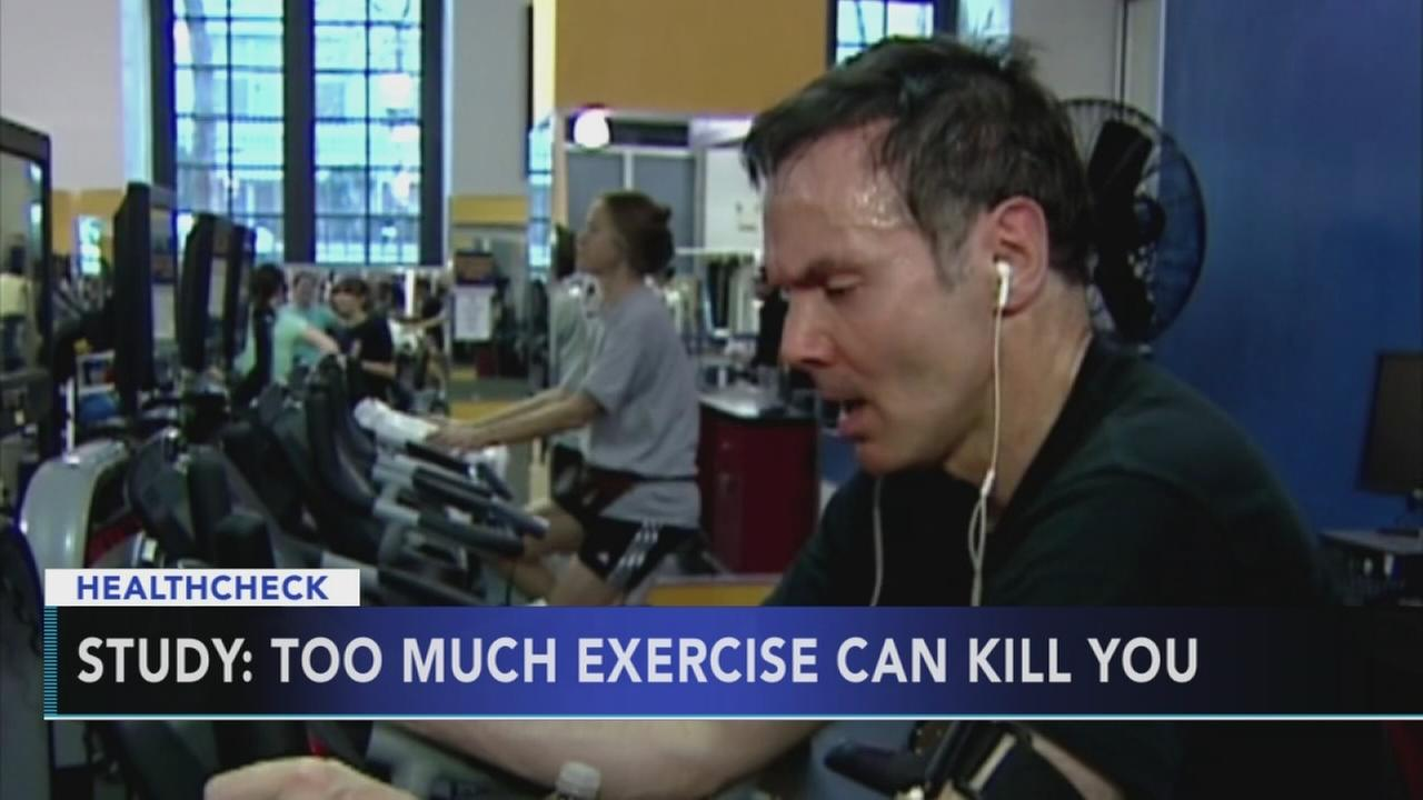 Study: Too much exercise can kill you