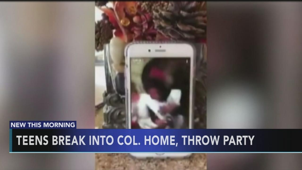 Teens break into home, throw party, stream on Snapchat