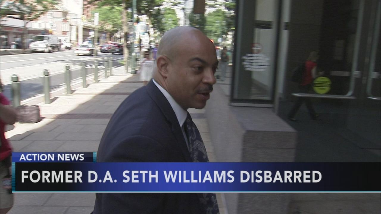 Former DA Seth Williams disbarred