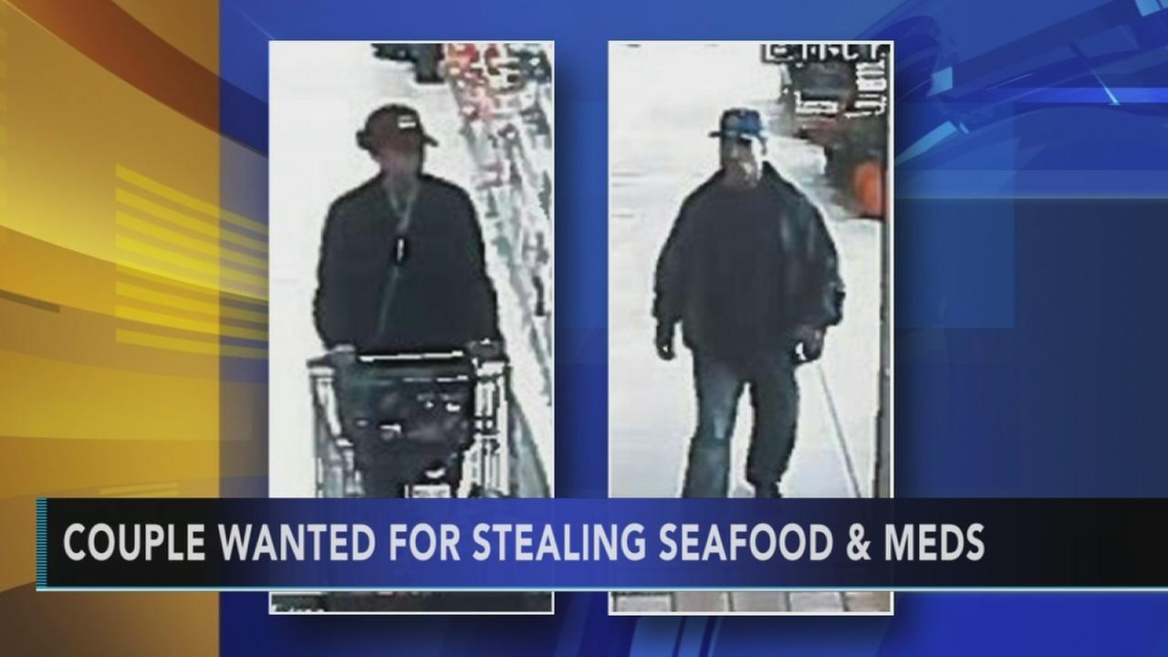 Pa. couple accused of stealing food and meds from Giants