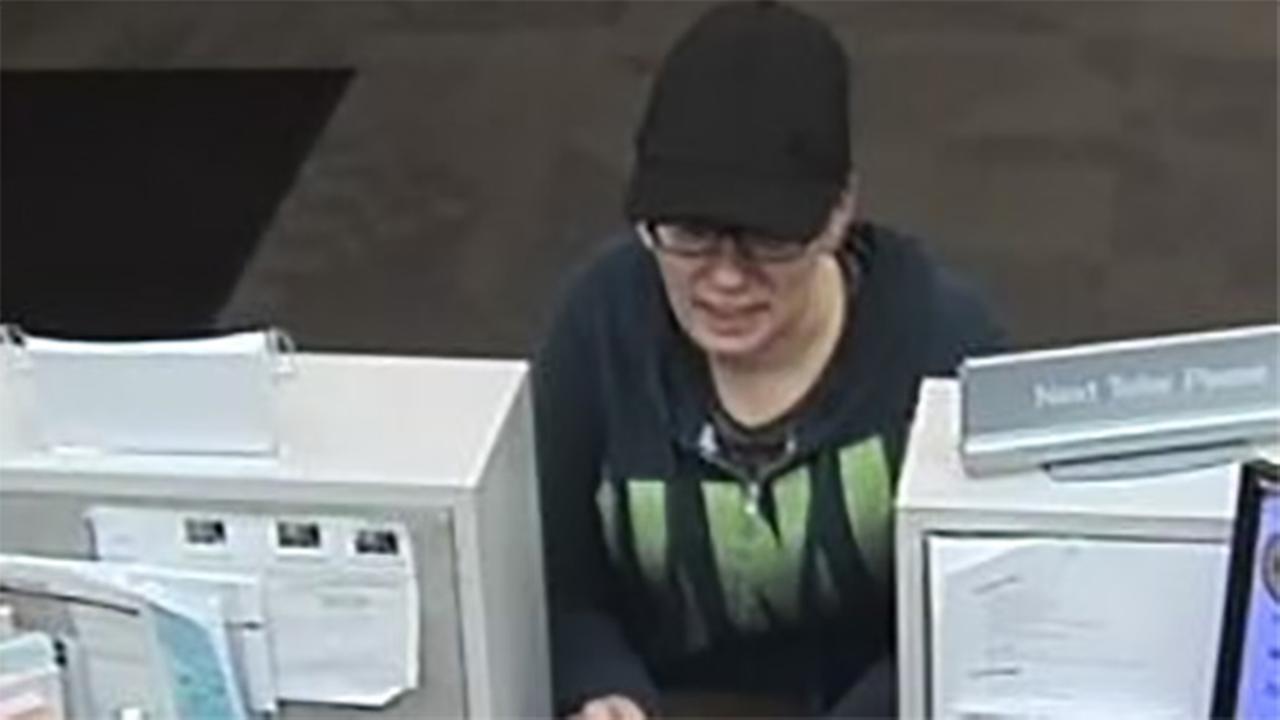 Female suspect sought in Pennsauken bank robbery