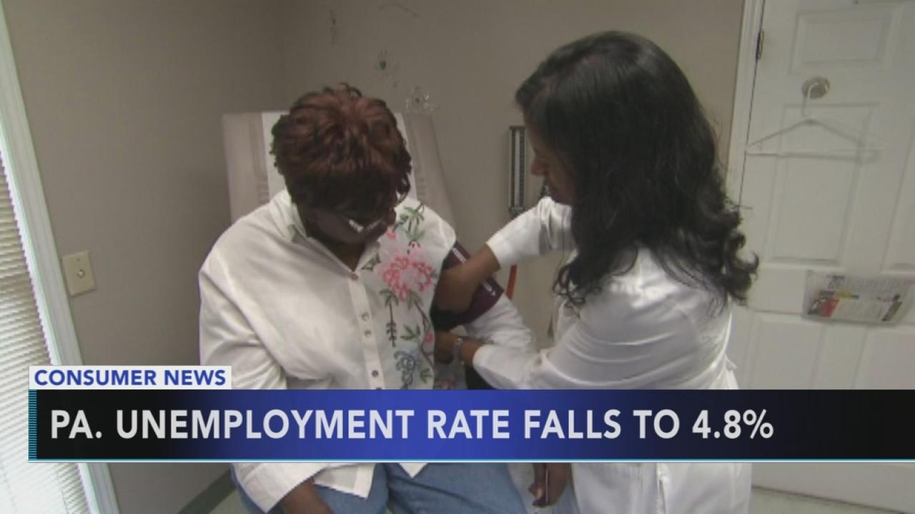 Unemployment rate drops in Pennsylvania for second straight month