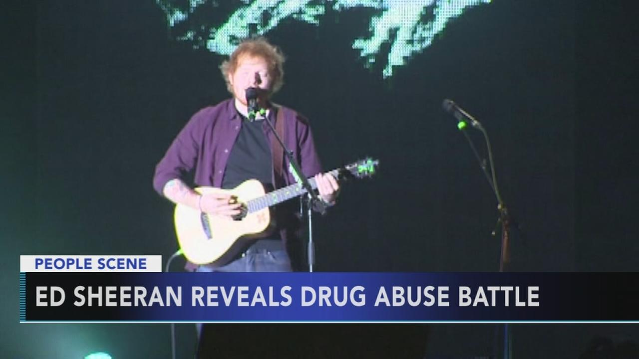 Ed Sheeran opens up about secret struggle with substance abuse