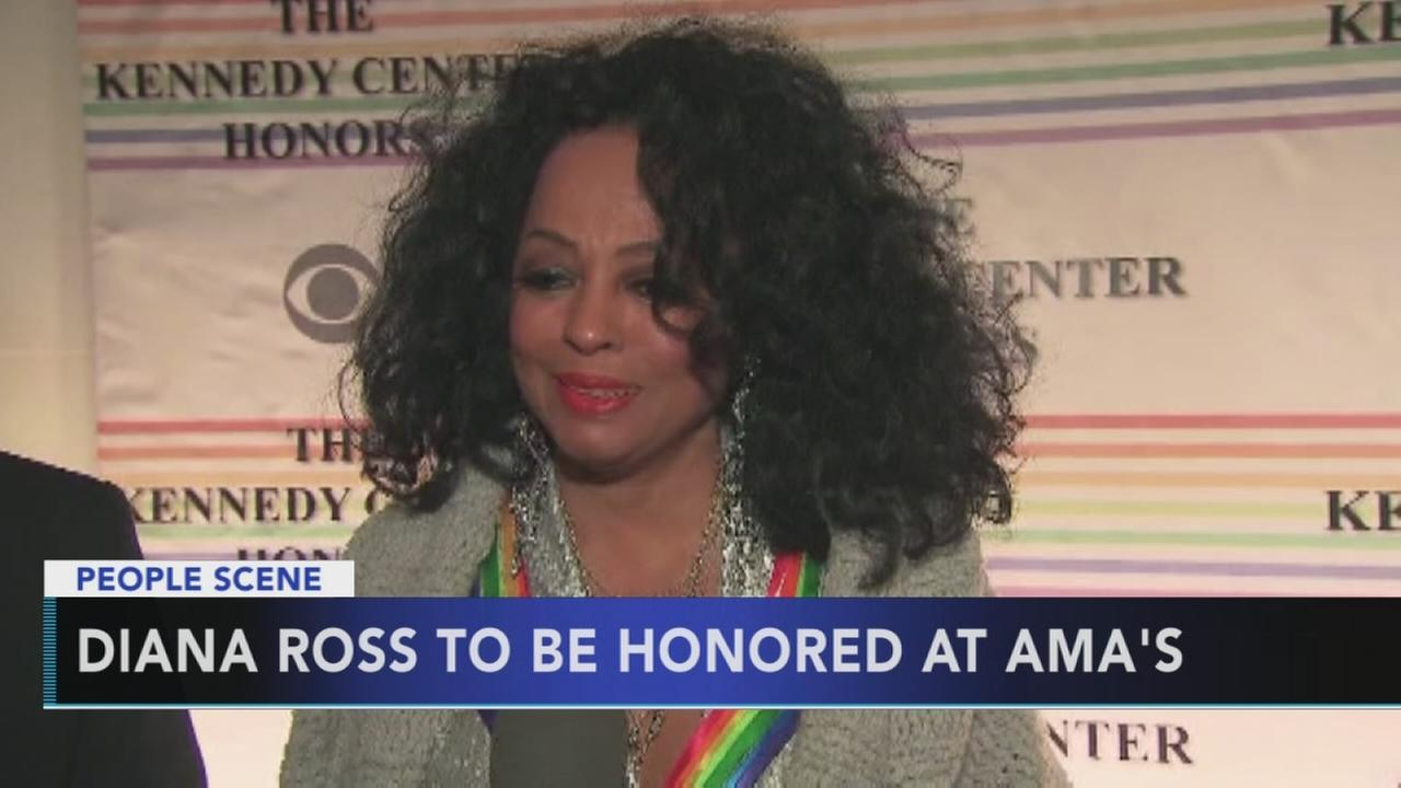 Diana Ross to be honored at the American Music Awards