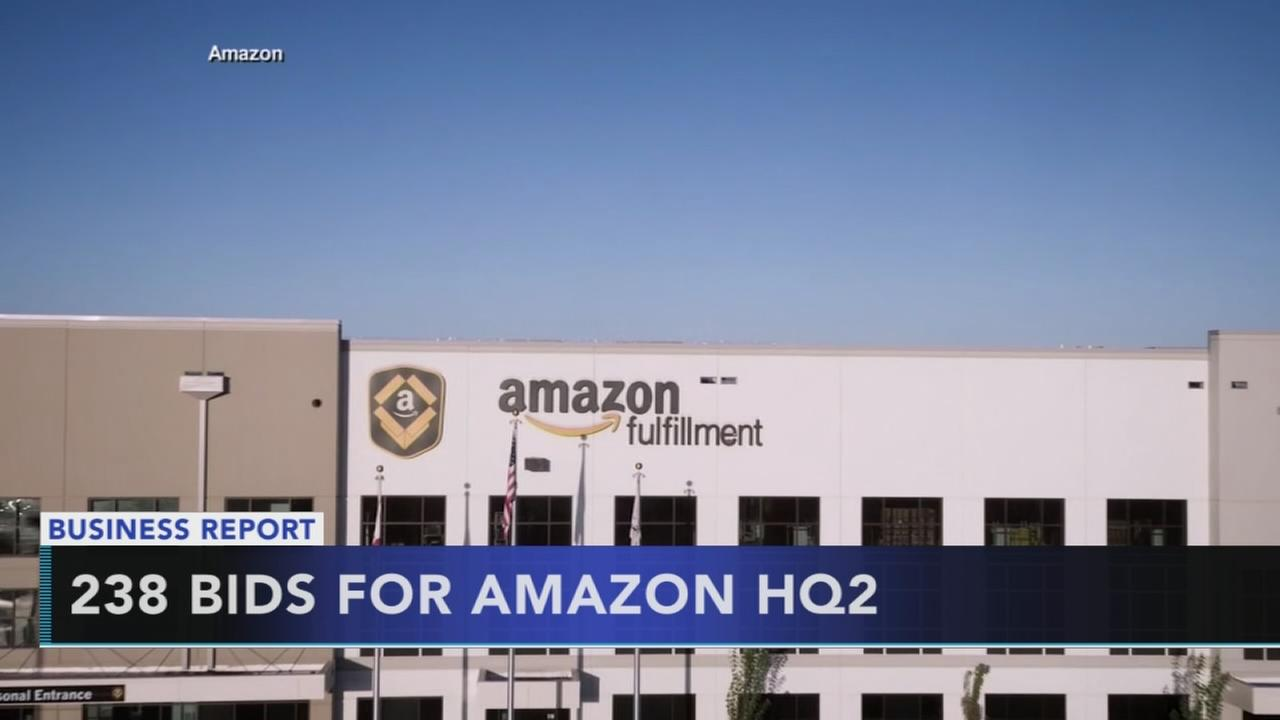 Amazon says it got 238 entries for 2nd headquarters