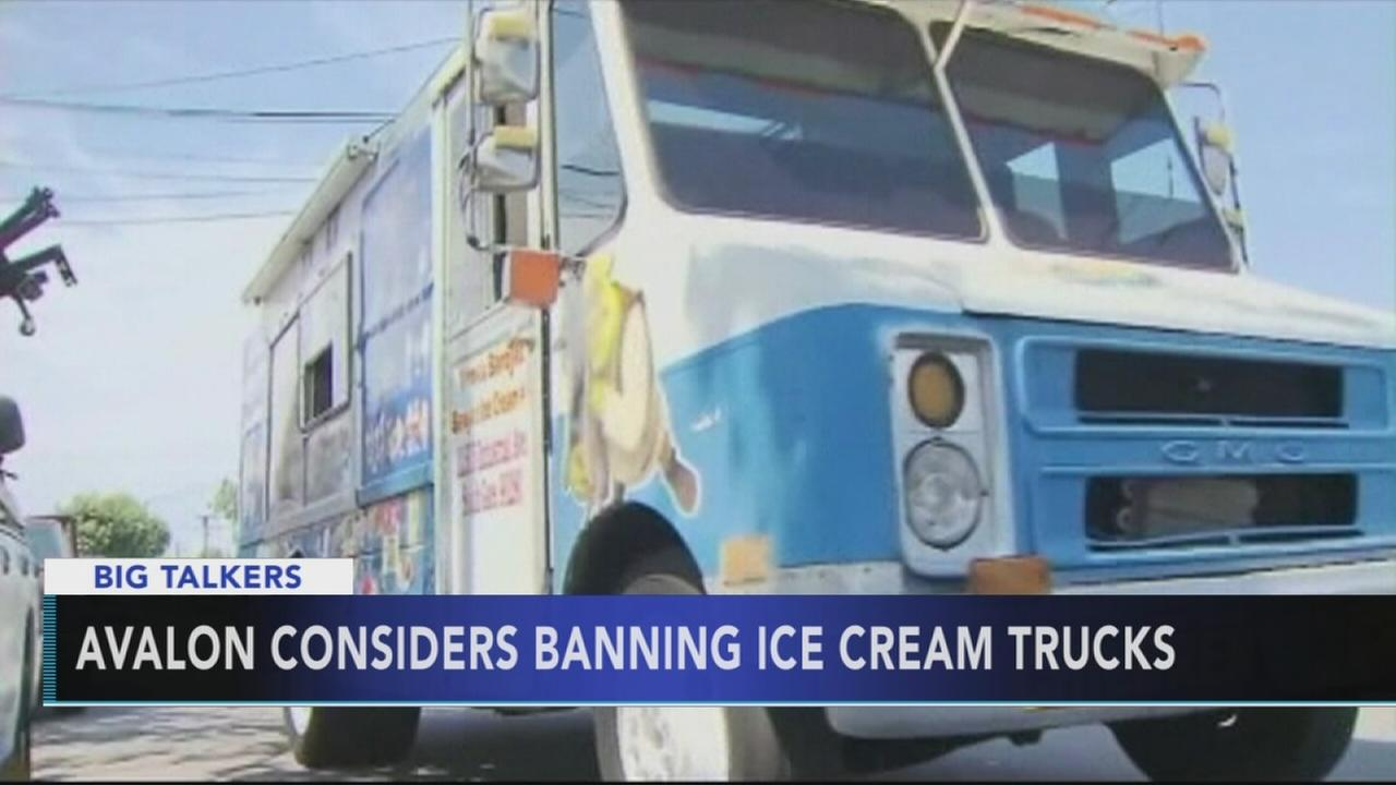 Avalon considers banning ice cream trucks and vendors