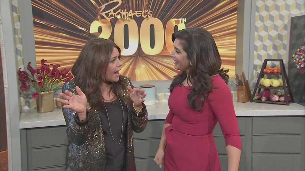 Alicia Vitarelli talks to Rachael Ray ahead of 2000th episode