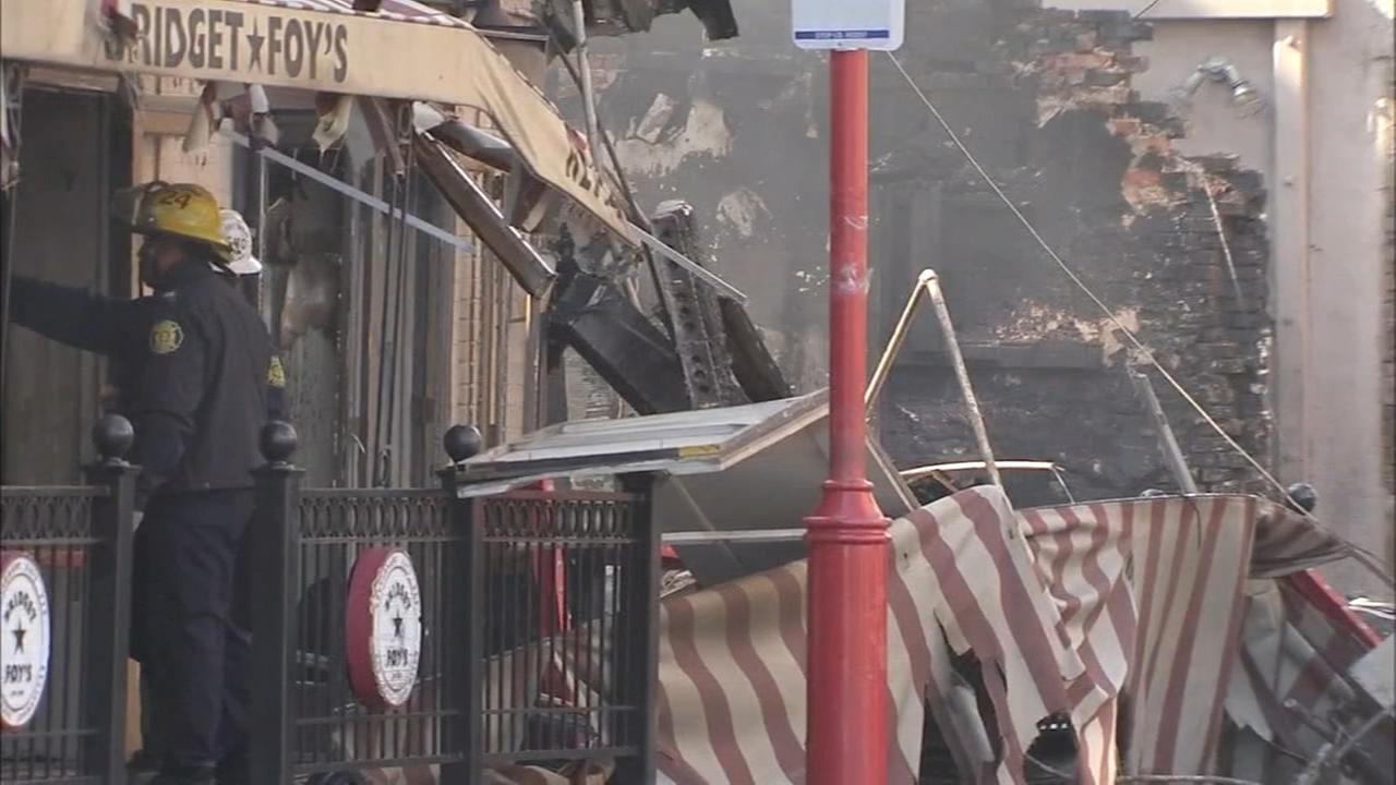 Popular South Street restaurant torn down after fire