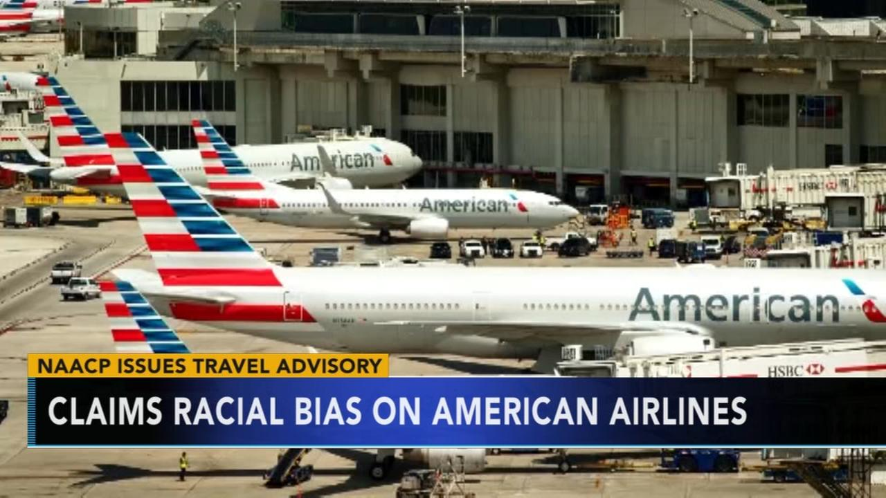 American Airlines responds to NAACP claims