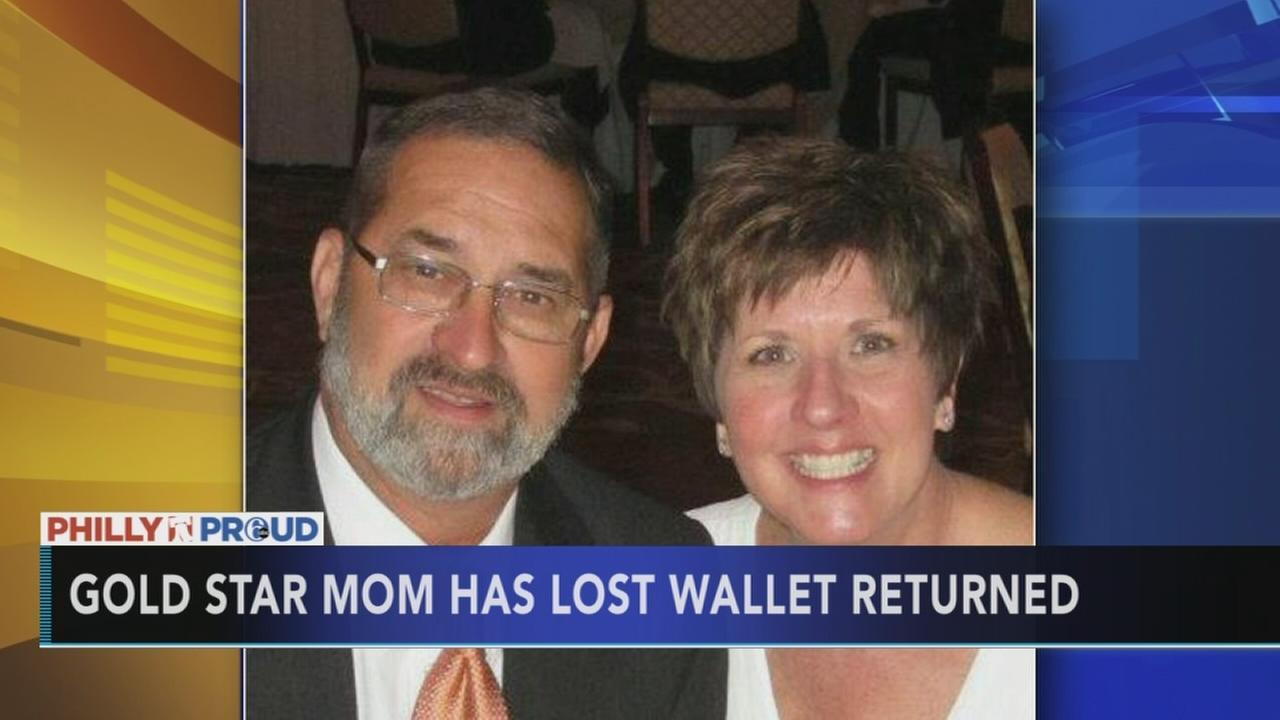 VIDEO: Gold star mom wallet