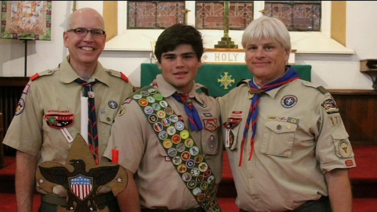 VIDEO: Local Eagle Scout earns extraordinary honor