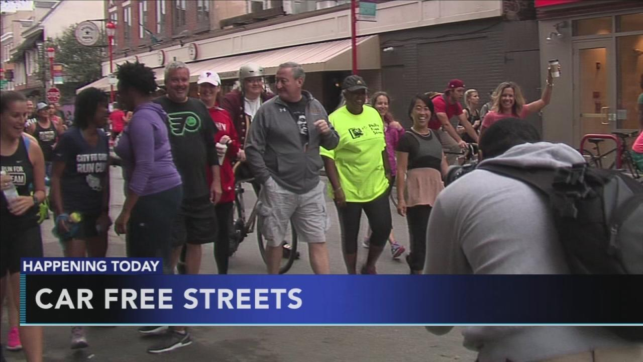 Some streets in Center City to be car free Saturday